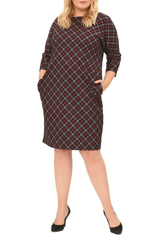 Платье женское SVESTA R774NOROU красное 60 RU фото