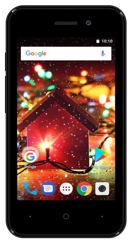 Смартфон Digma HIT Q401 3G 8Gb Black фото