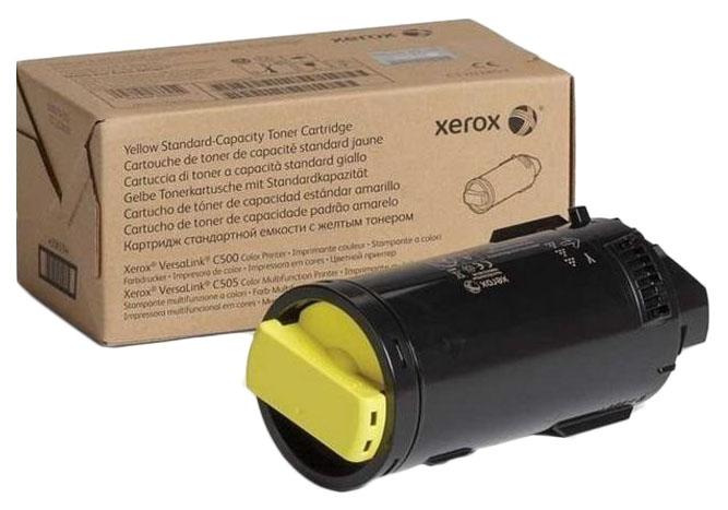 Картридж для лазерного принтера Xerox 106R03487, желтый, оригинал