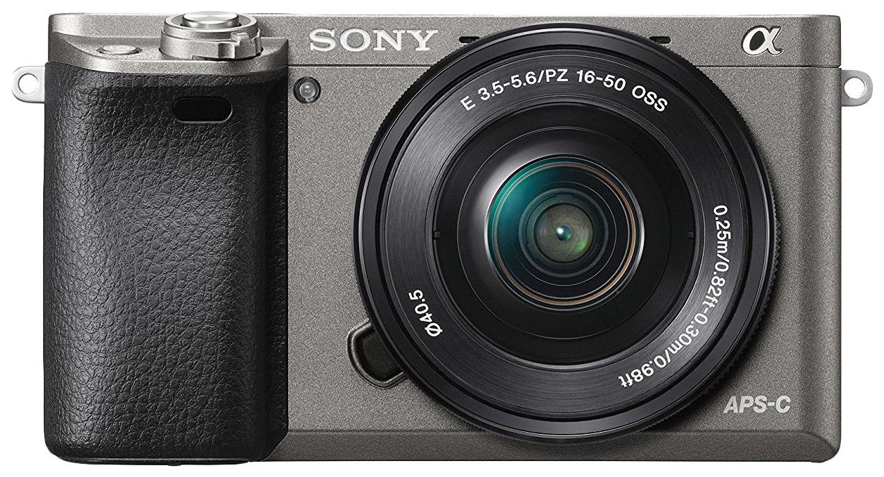 Фотоаппарат системный Sony Alpha A6000 16-50 Grey фото