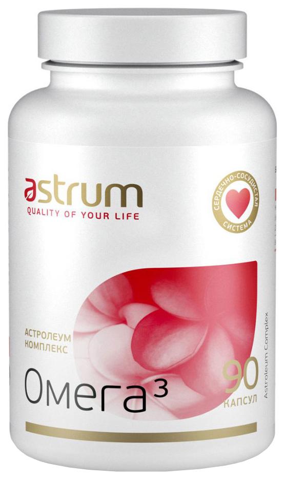 Купить Астролеум комплекс Омега 3, Omega-3 Astrum Астролеум комплекс, 90 капсул