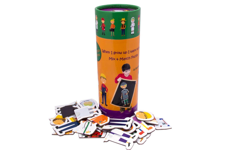 Купить Магнитная игра The Purple Cow Профессии, Семейные настольные игры