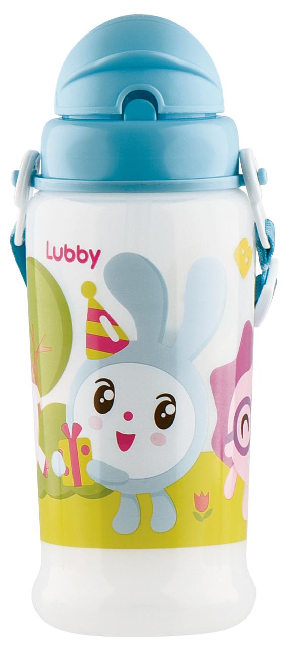Купить Поильник LUBBY в комплекте с трубочкой Малышарики от 6 мес 360 мл, Поильники