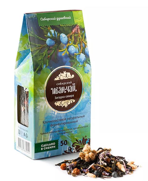 Напиток чайный Сибирский Иван-чай загадка севера 50 г