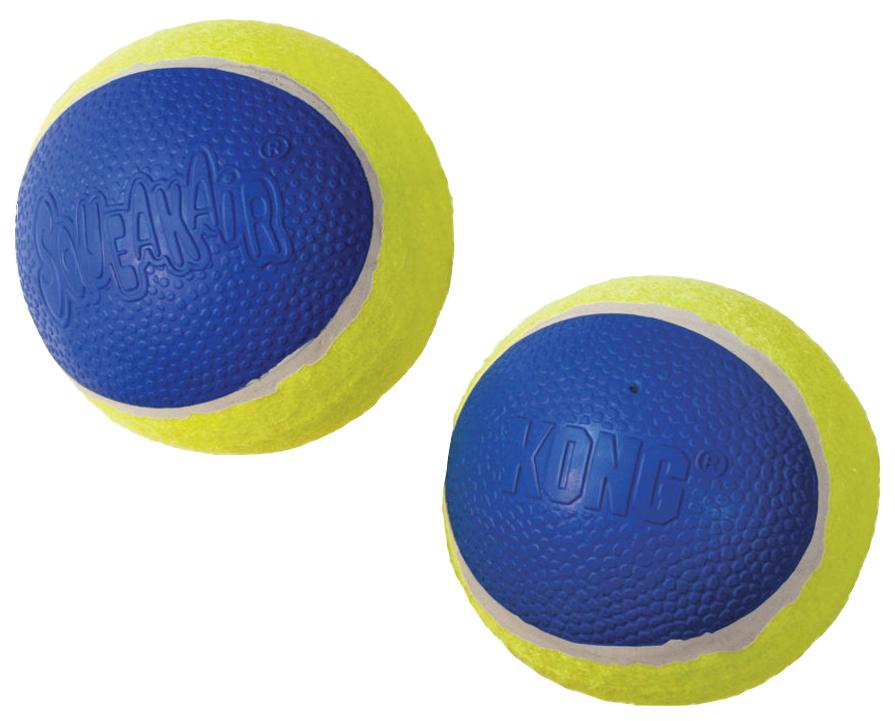 Апорт для собак KONG мячик большой, желтый,