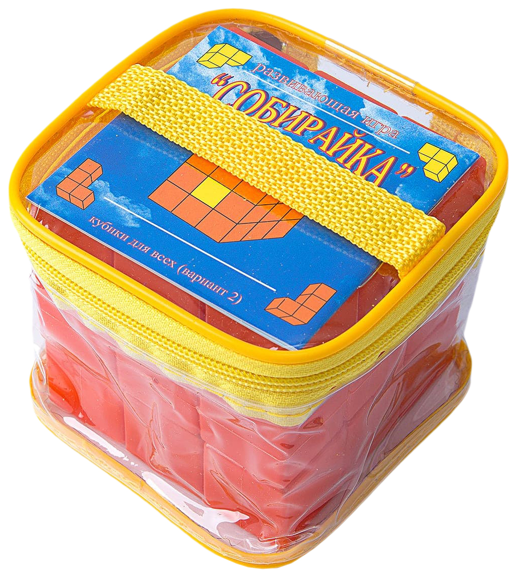 Купить Развивающая игрушка Корвет Кубики для всех Собирайка, Развивающие кубики