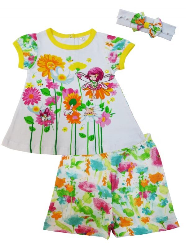 Комплект одежды детский Soni Kids Белый р.74