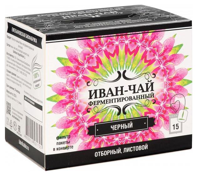 Напиток чайный Иван-Чай ферментированный черный 15 штук фото