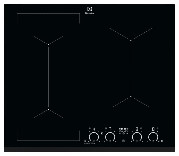 Встраиваемая варочная панель индукционная Electrolux IPE6463KI Black