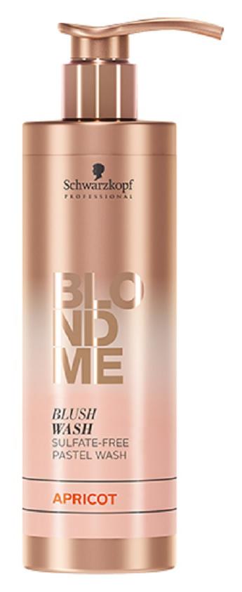 Оттеночный шампунь Schwarzkopf BLONDME Blush Wash Apricot
