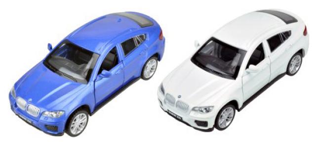 Купить Машинка Пламенный мотор 1:43 BMW X6 в ассортименте, Игрушечные машинки