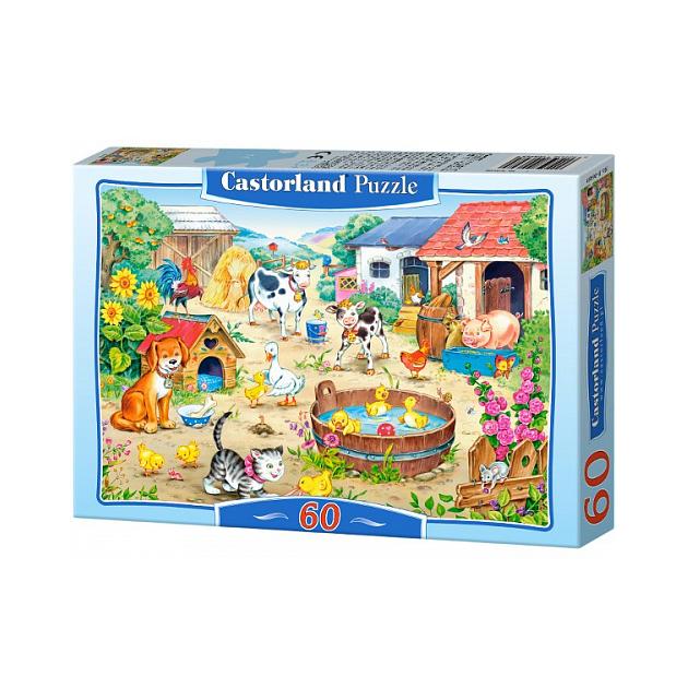 Купить Пазл Castorland Ферма (Castorland) 60 элементов, арт.В-06489, Пазлы