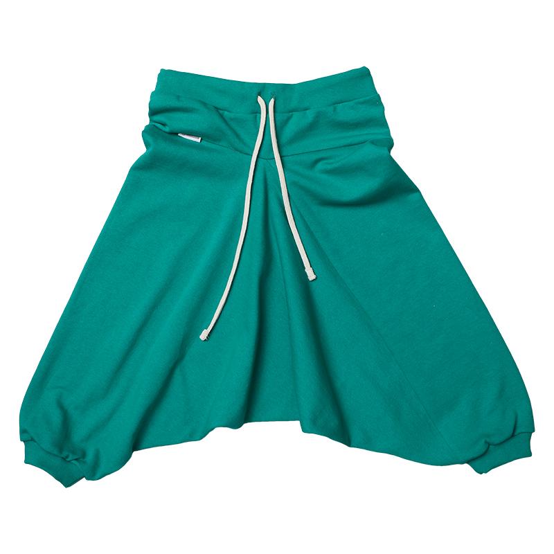 Купить Брюки детские Bambinizon Изумруд ШТФ-И-З р.104 зеленый, Детские брюки и шорты
