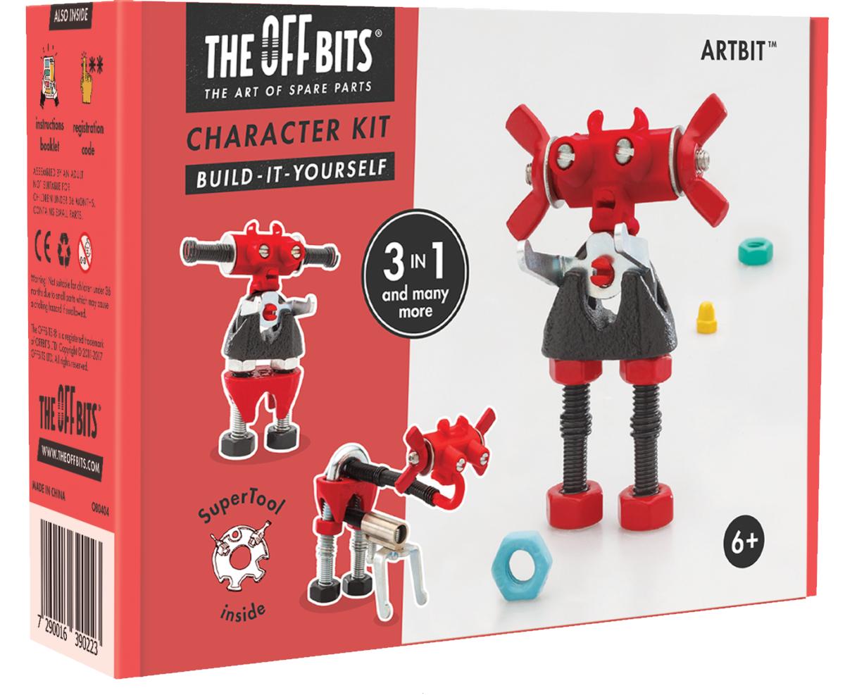 Игрушка – конструктор The Offbits Artbit,  - купить со скидкой