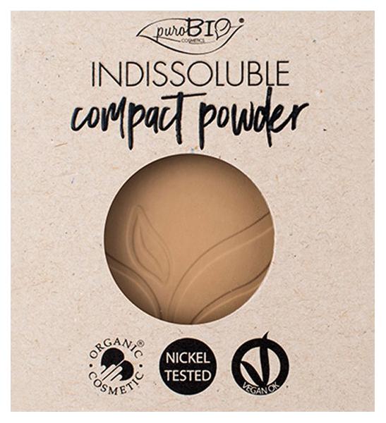 Пудра PuroBio REFILL INDISSOLUBLE compact powder
