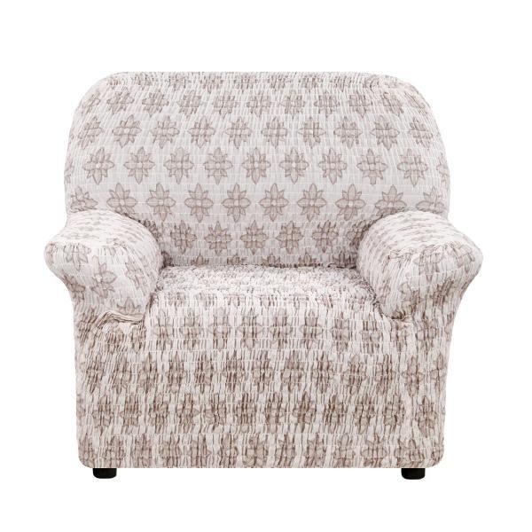 Чехол на кресло Еврочехол Сиена Вернале бежевый