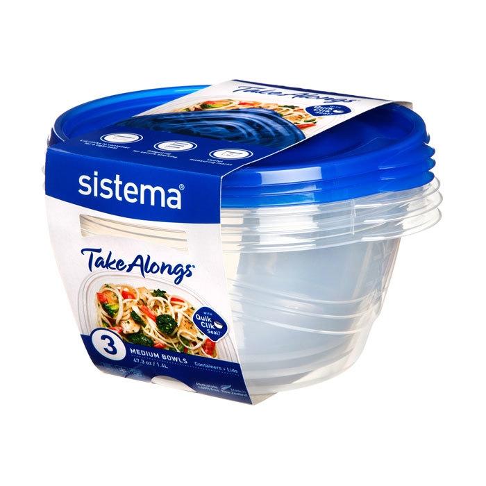 Набор круглых контейнеров TakeAlongs, 1,4 л (3 шт,)
