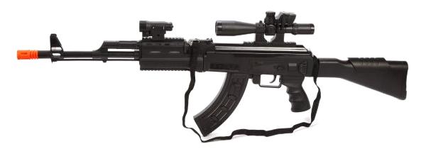 Автомат трещетка Наша Игрушка Оборона ZYA A2725