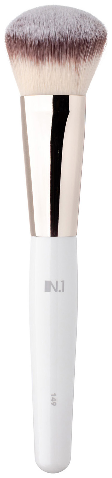 Кисть для макияжа N.1 Скошенная для румян из ворса таклон №149