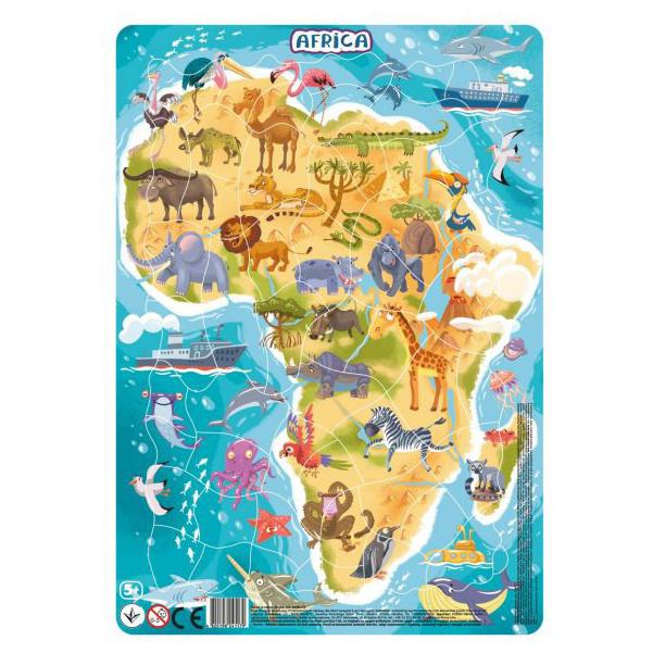 DODO Пазл в рамке DoDo Африка, 53 элемента R300175 фото