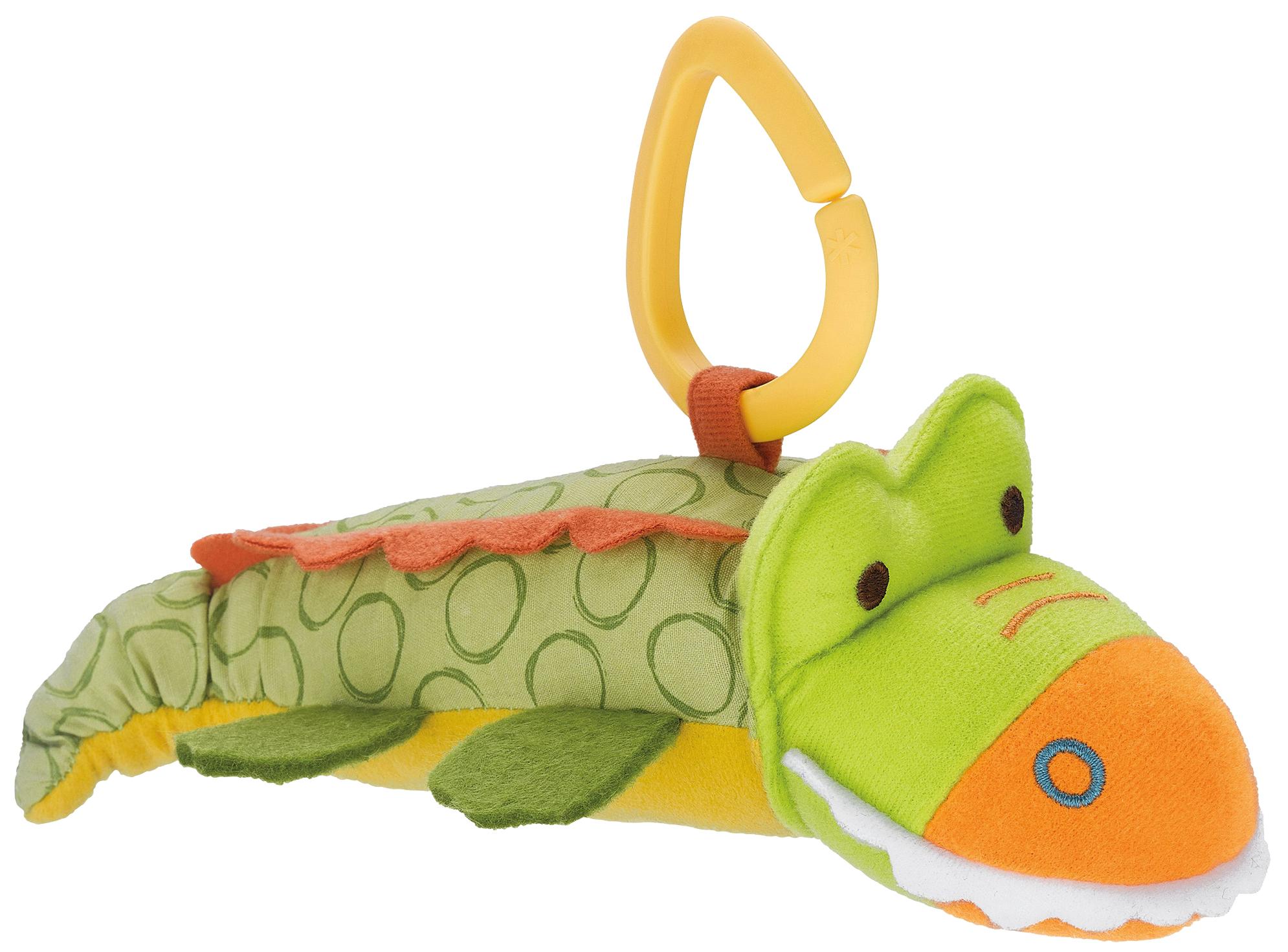 Купить Развивающая игрушка на коляску Skip Hop Крокодил SH 307422, Интерактивные развивающие игрушки