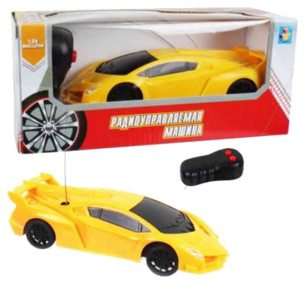 Радиоуправляемая машинка 1 Toy Спортавто Т13825 Желтый