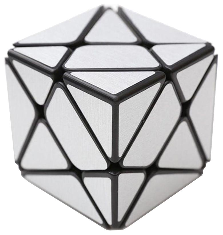 Головоломка PlayLab Зеркальный Кубик Трансформер Серебро