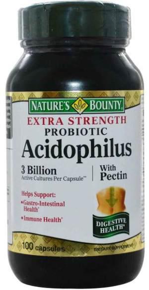 Ацидофилус Nature's Bounty 476 мг 100 капсул фото