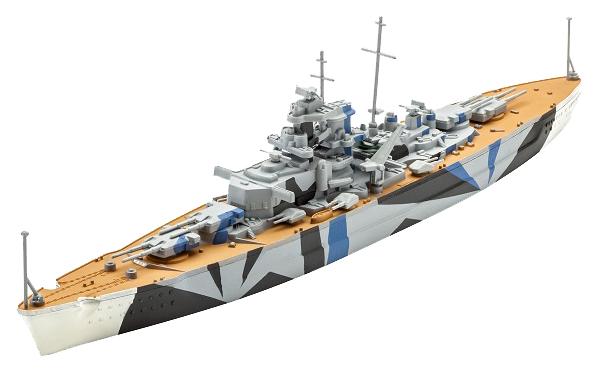 Модель для сборки REVELL линкор TIRPITZ 65822
