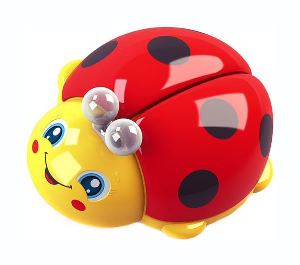 Купить Интерактивное животное Азбукварик Божья коровка 28259-6, Интерактивные мягкие игрушки