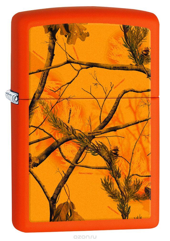 Зажигалка Zippo Realtree AP Blaze Orange Matte фото