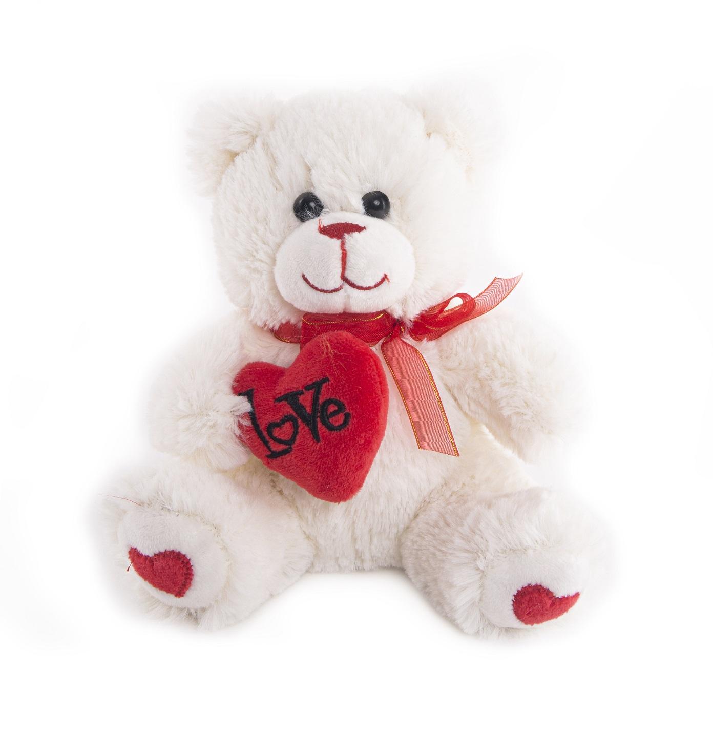 Мягкая игрушка ButtonBlue, Мишка Гарри с сердечком, 20 см 40-DN17-0055-2-20