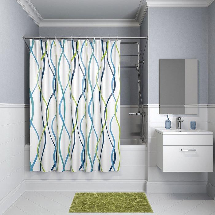 Штора для ванной комнаты IDDIS Promo P15P118i11