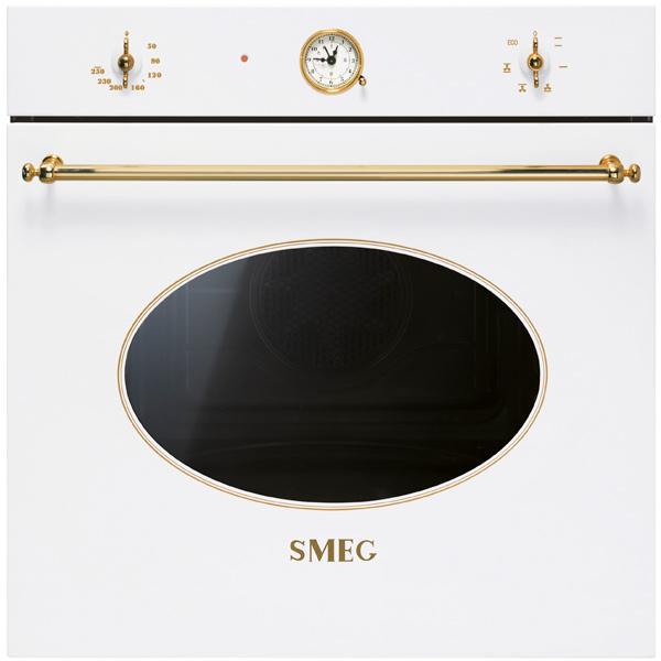 Встраиваемый электрический духовой шкаф Smeg SF800B White