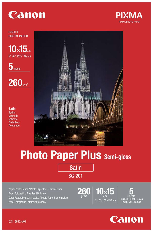 Фотобумага для принтера A4 Canon SG-201 SG-201 1686B021