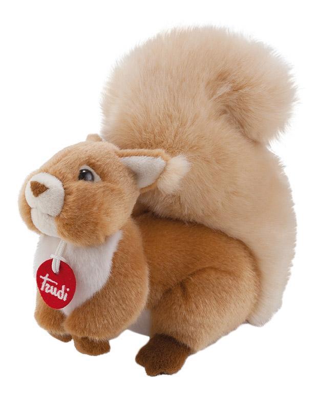 Купить Мягкая игрушка Trudi Белочка Джинджер, 24 см, Мягкие игрушки животные