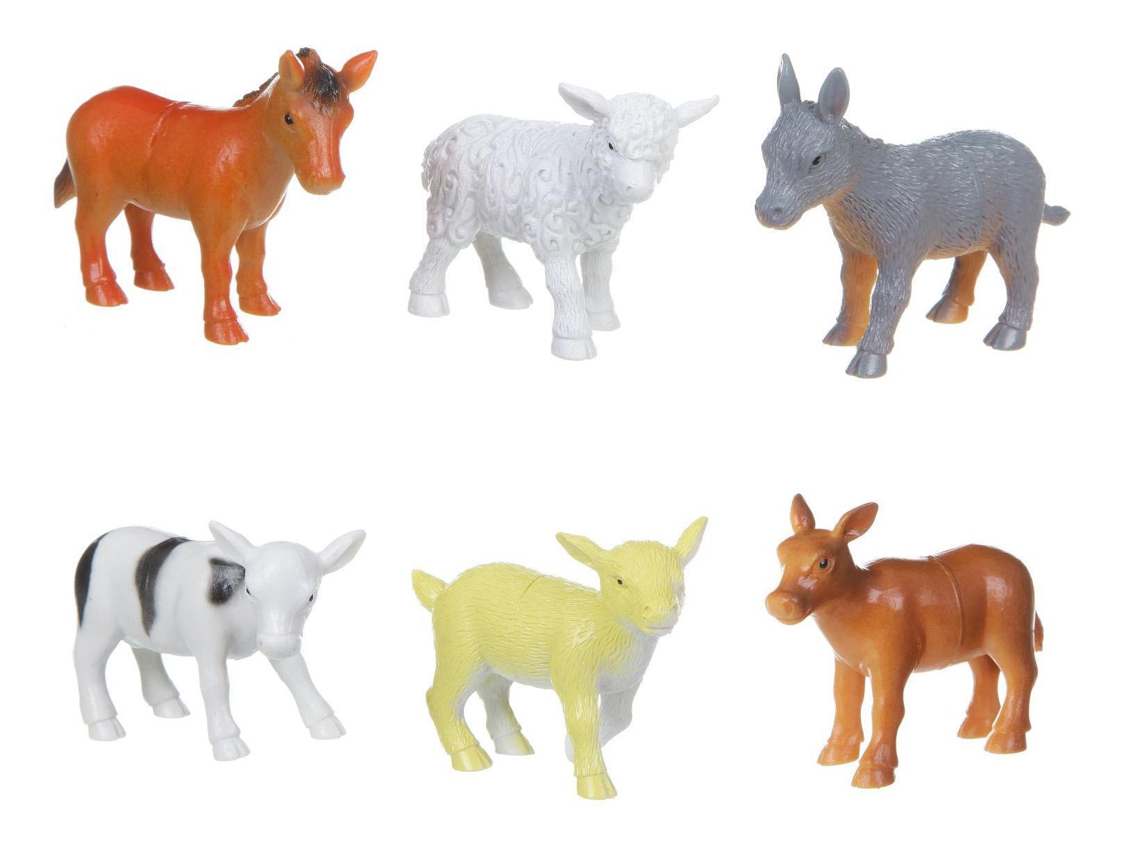Купить Набор животных Bondibon ребятам о зверятах, детёныши домашних животных, 3-3, 5, Фигурки животных