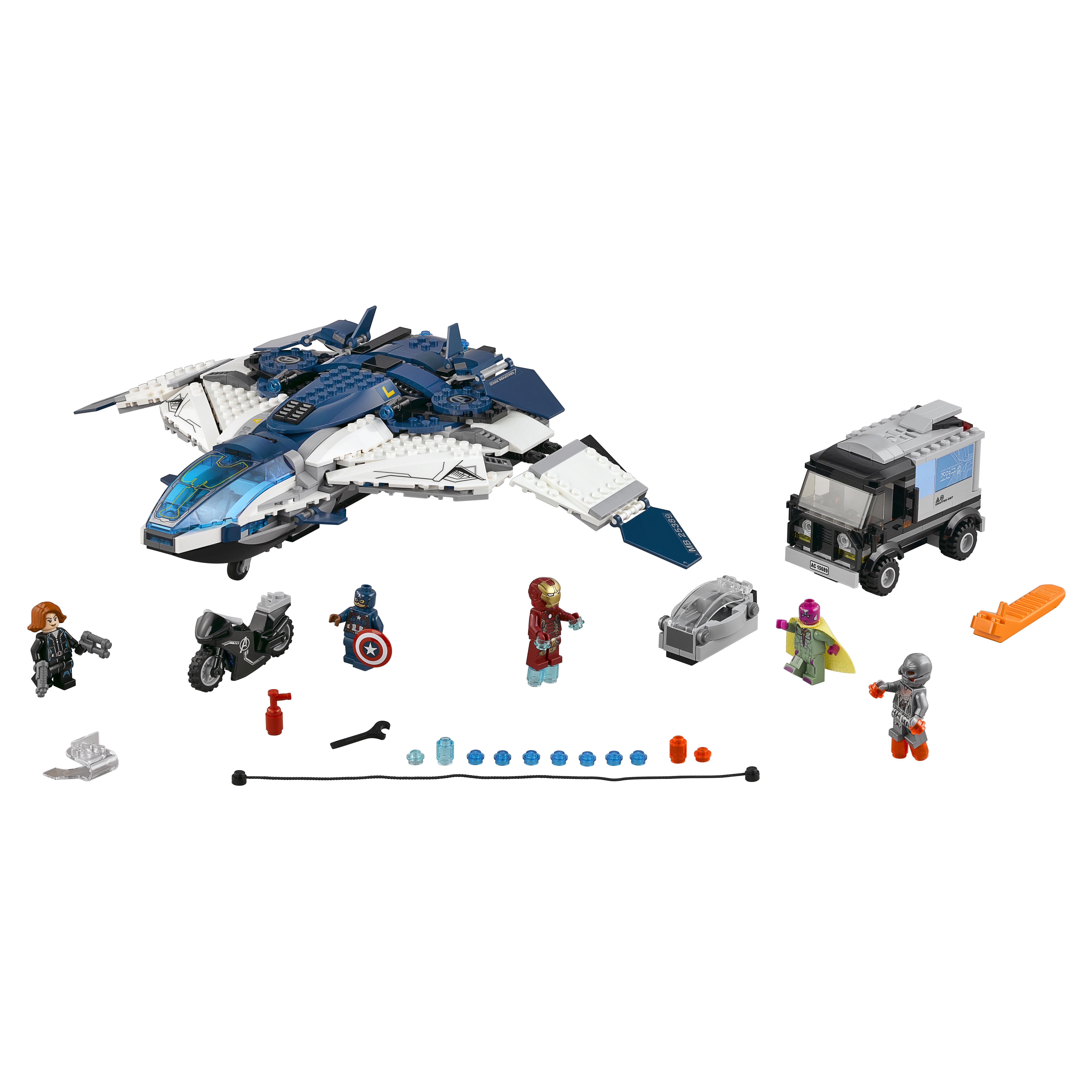 Конструктор LEGO Super Heroes Погоня на Квинджете