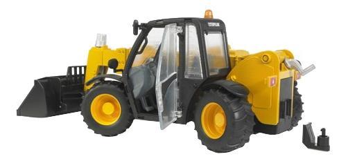 Купить Погрузчик колёсный Bruder CAT Telehandler с телескопическим ковшом, Игрушечный транспорт Bruder
