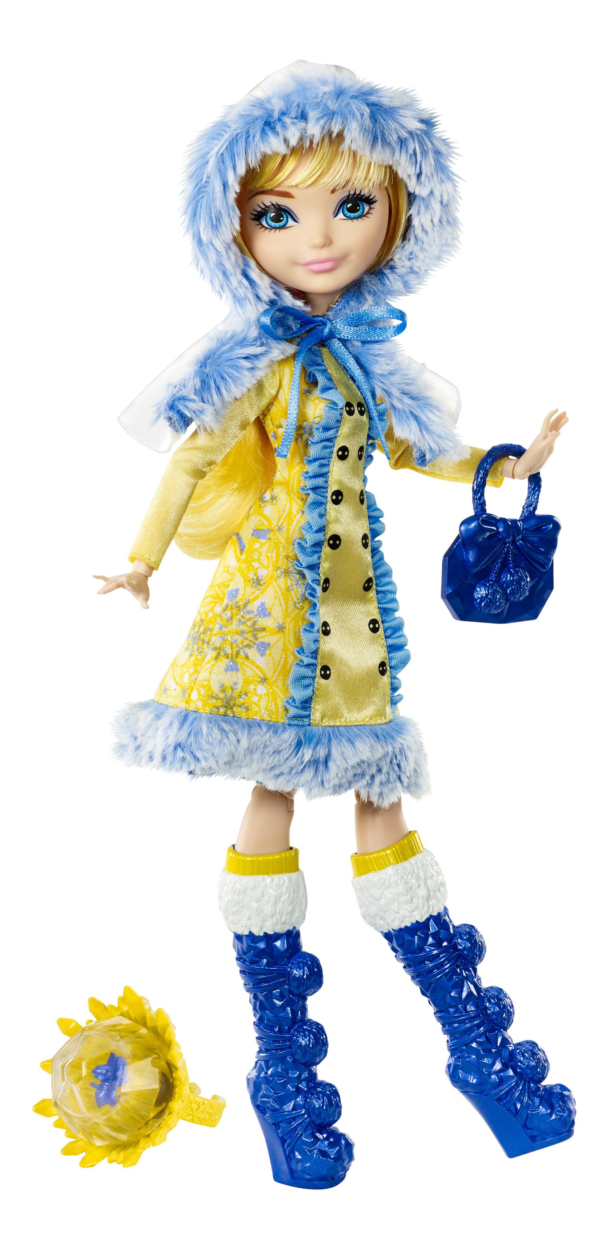 Купить Кукла Ever After High Заколдованная зима - Блонди Локс DKR62 DKR66, Куклы