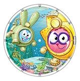 Купить Лабиринт Подводный мир, Двусторонний лабиринт (смешарики: подводный мир), НОРДПЛАСТ, Логические игры