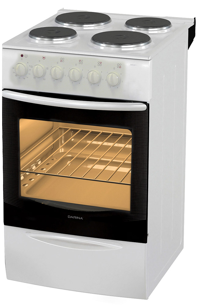 Электрическая плита Darina F EМ 341 407 W White фото