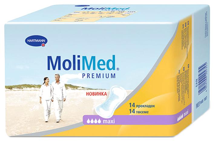 Прокладки MoliMed Премиум Макси 14 шт
