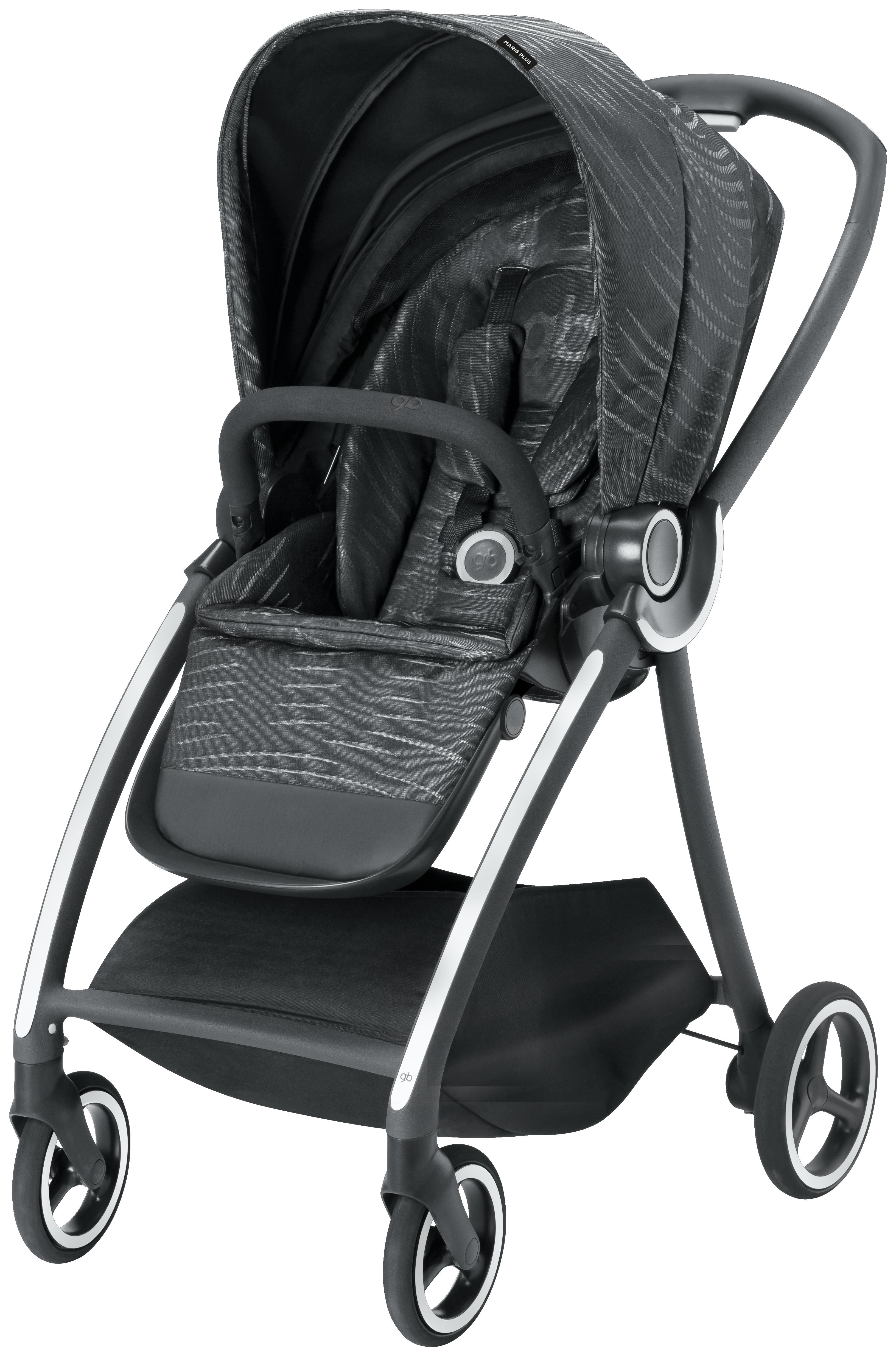 Купить Прогулочная коляска GB Maris Plus Lux Black, Goodbaby,
