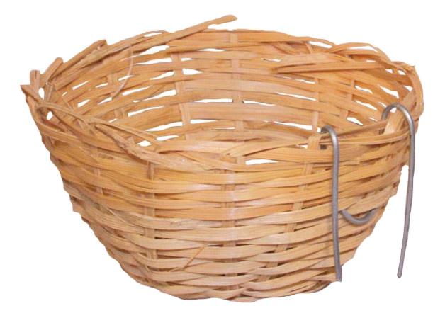 Гнездо для канарейки из лозы 52011010, d80х60мм