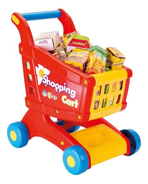 Купить Для супермаркета, Игровой набор Dolu Тележка с продуктами, Детские тележки для супермаркета