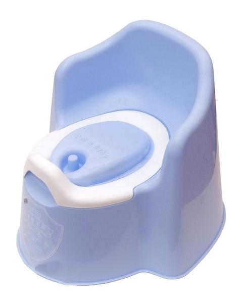 Купить Горшок детский Plastic Centre Little King голубой, Горшки детские