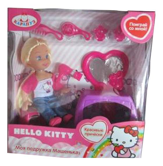 Купить Кукла Карапуз Hello Kitty. Машенька 12 см, Классические куклы
