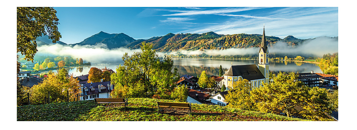 Купить Озеро Шлирзее панорама, Пазл Trefl Озеро Шлирзее панорама, Пазлы