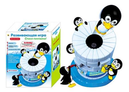 Купить Семейная настольная игра Проф-пресс Спаси Пингвина!, Проф-Пресс, Семейные настольные игры